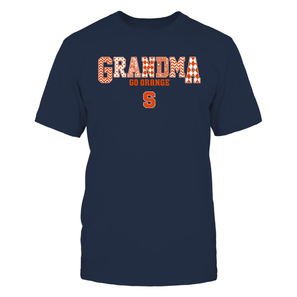 Syracuse Orange - 19070910462 - Grandma - Slogan- Patterned - IF13-IC13-DS45 Front picture