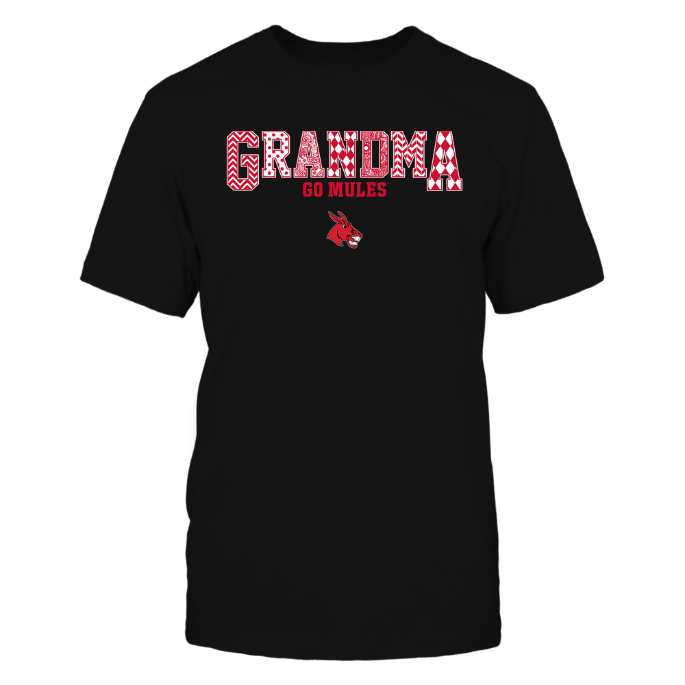 Central Missouri Mules - 19070910462 - Grandma - Slogan- Patterned - IF13-IC13-DS45 Front picture