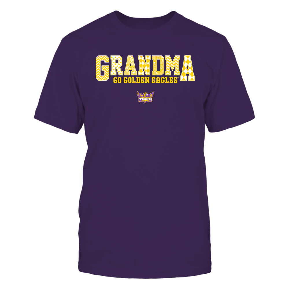 Tennessee Tech Golden Eagles - 19070910462 - Grandma - Slogan- Patterned - IF13-IC13-DS45 Front picture