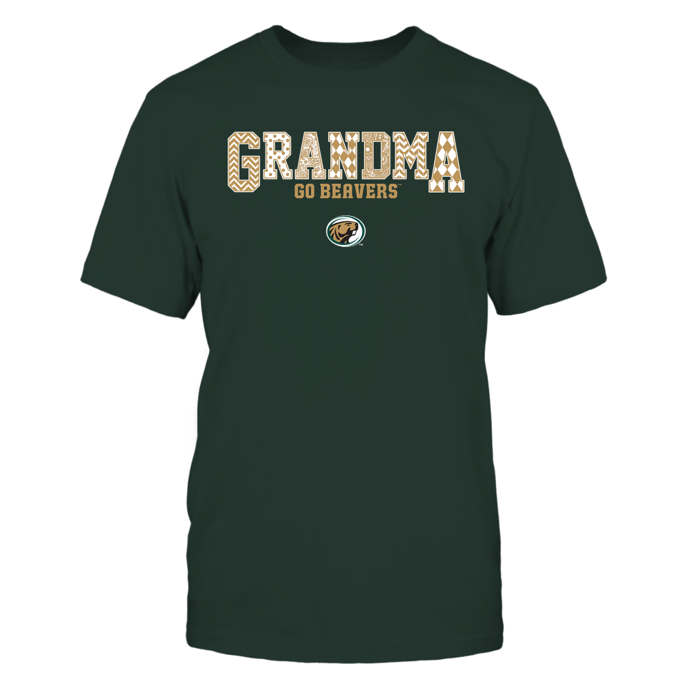 Bemidji State Beavers - 19070910462 - Grandma - Slogan- Patterned - IF13-IC13-DS45 Front picture