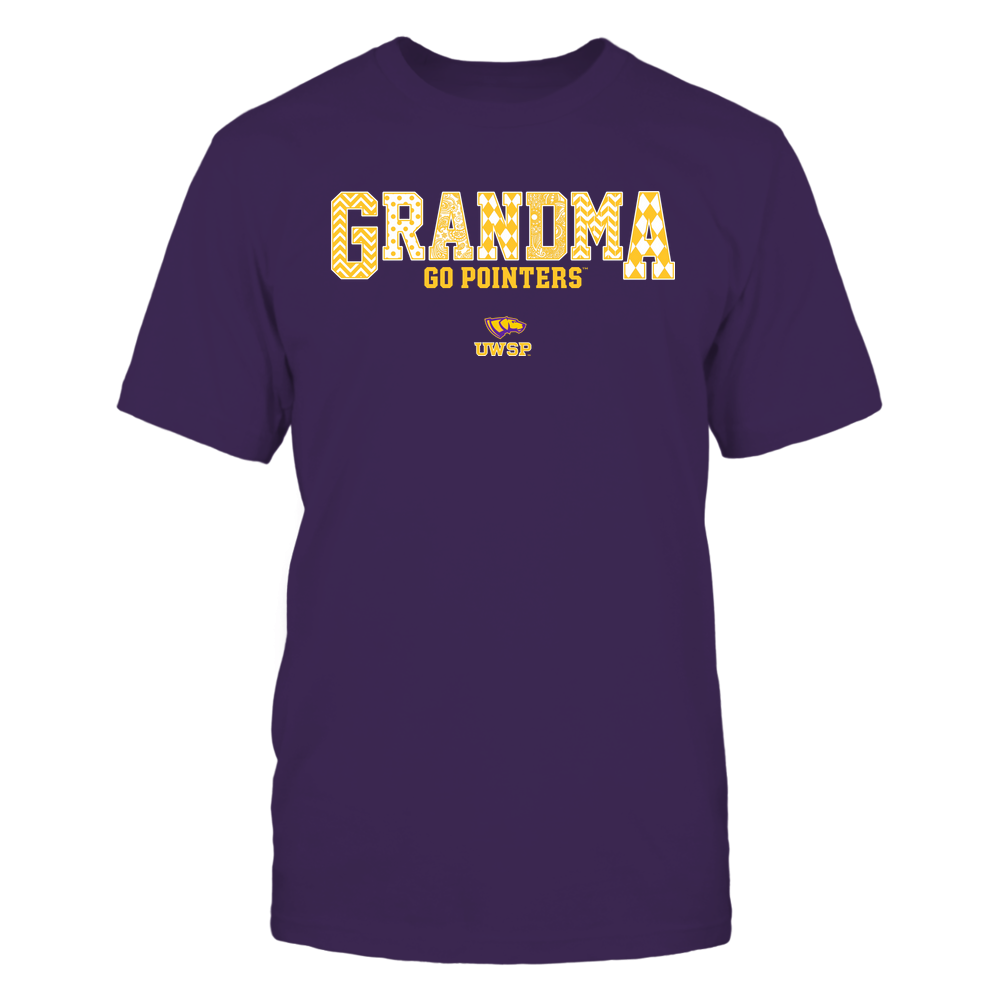 Wisconsin-Stevens Point Pointers - 19070910462 - Grandma - Slogan- Patterned - IF13-IC13-DS45 Front picture