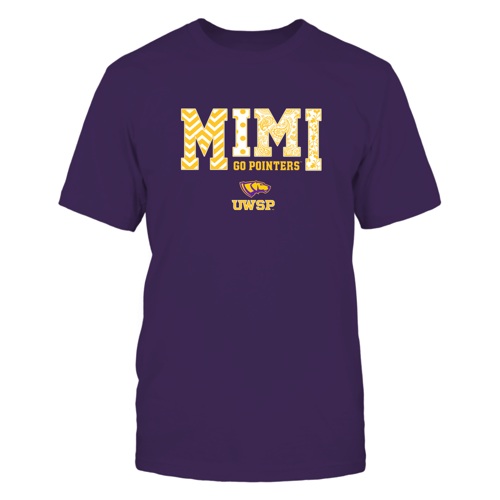 Wisconsin-Stevens Point Pointers - 19070910463 - Mimi - Slogan- Patterned - IF13-IC13-DS27 Front picture