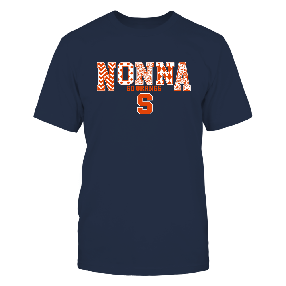 Syracuse Orange - 19070910464 - Nonna - Slogan- Patterned - IF13-IC13-DS27 Front picture