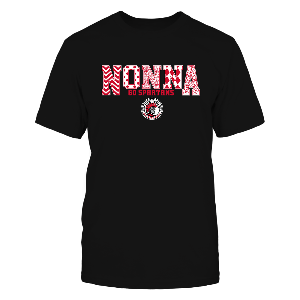 Tampa Spartans - 19070910464 - Nonna - Slogan- Patterned - IF13-IC13-DS27 Front picture