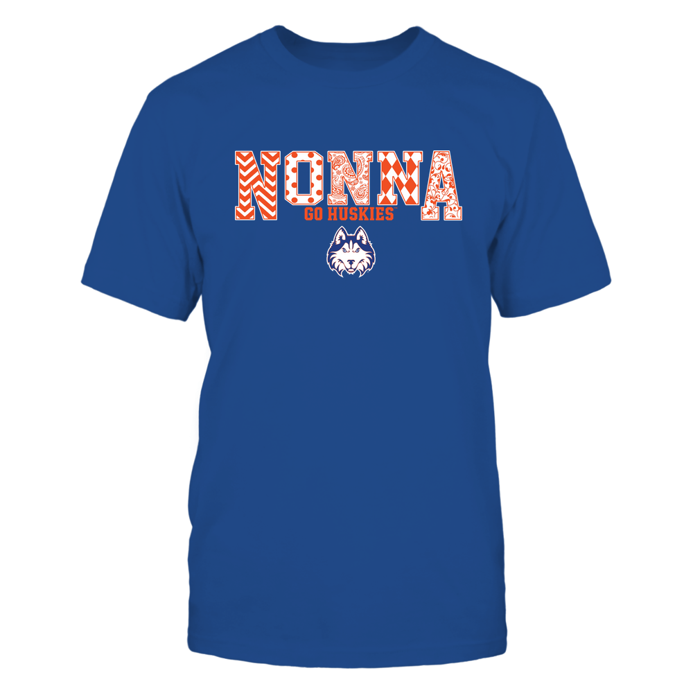 Houston Baptist Huskies - 19070910464 - Nonna - Slogan- Patterned - IF13-IC13-DS27 Front picture