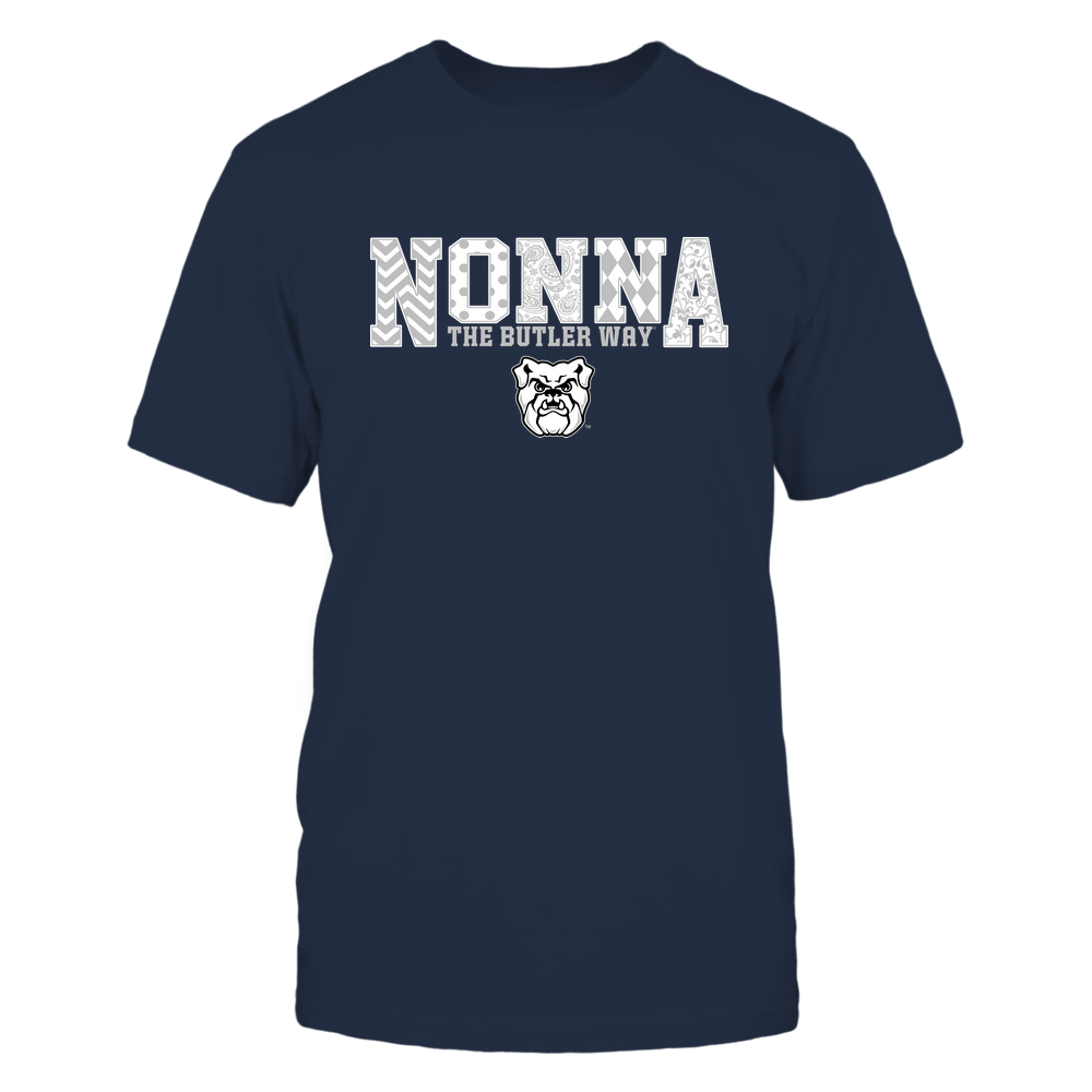 Butler Bulldogs - 19070910464 - Nonna - Slogan- Patterned - IF13-IC13-DS27 Front picture