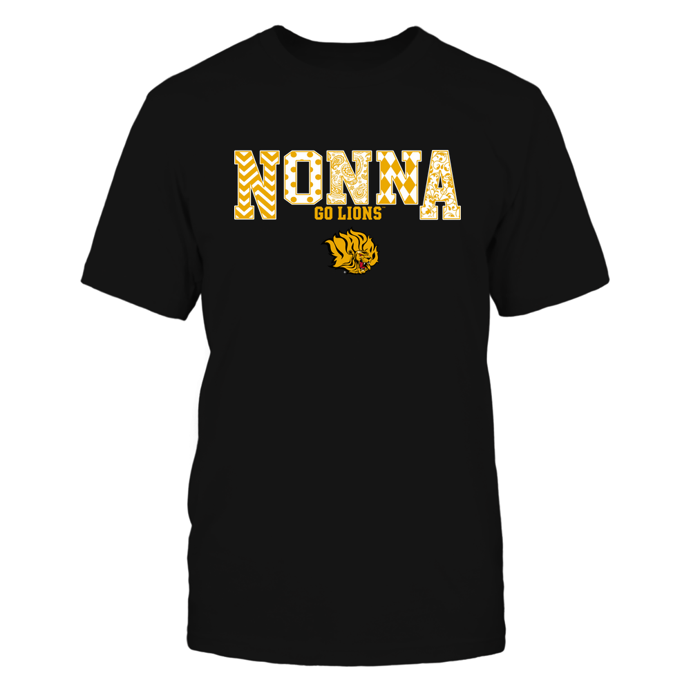 Arkansas Pine Bluff Golden Lions - 19070910464 - Nonna - Slogan- Patterned - IF13-IC13-DS27 Front picture