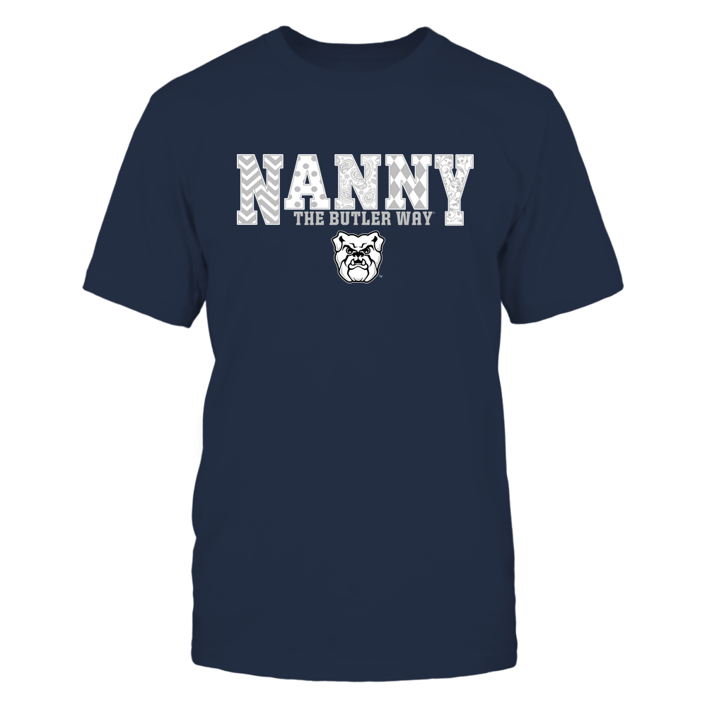 Butler Bulldogs - 19070910465 - Nanny - Slogan- Patterned - IF13-IC13-DS27 Front picture