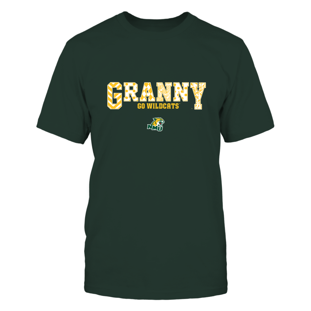 Northern Michigan Wildcats - 19070910466 - Granny - Slogan- Patterned - IF13-IC13-DS63 Front picture