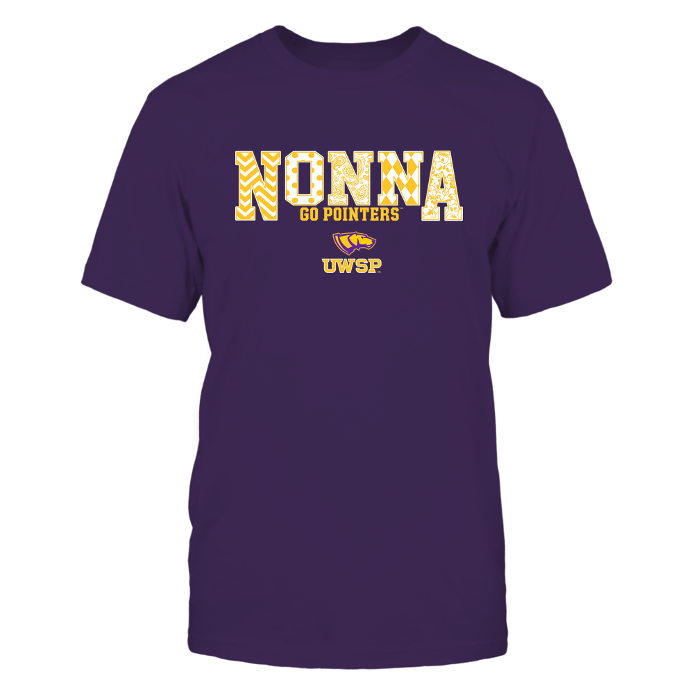 Wisconsin-Stevens Point Pointers - 19070910464 - Nonna - Slogan- Patterned - IF13-IC13-DS27 Front picture