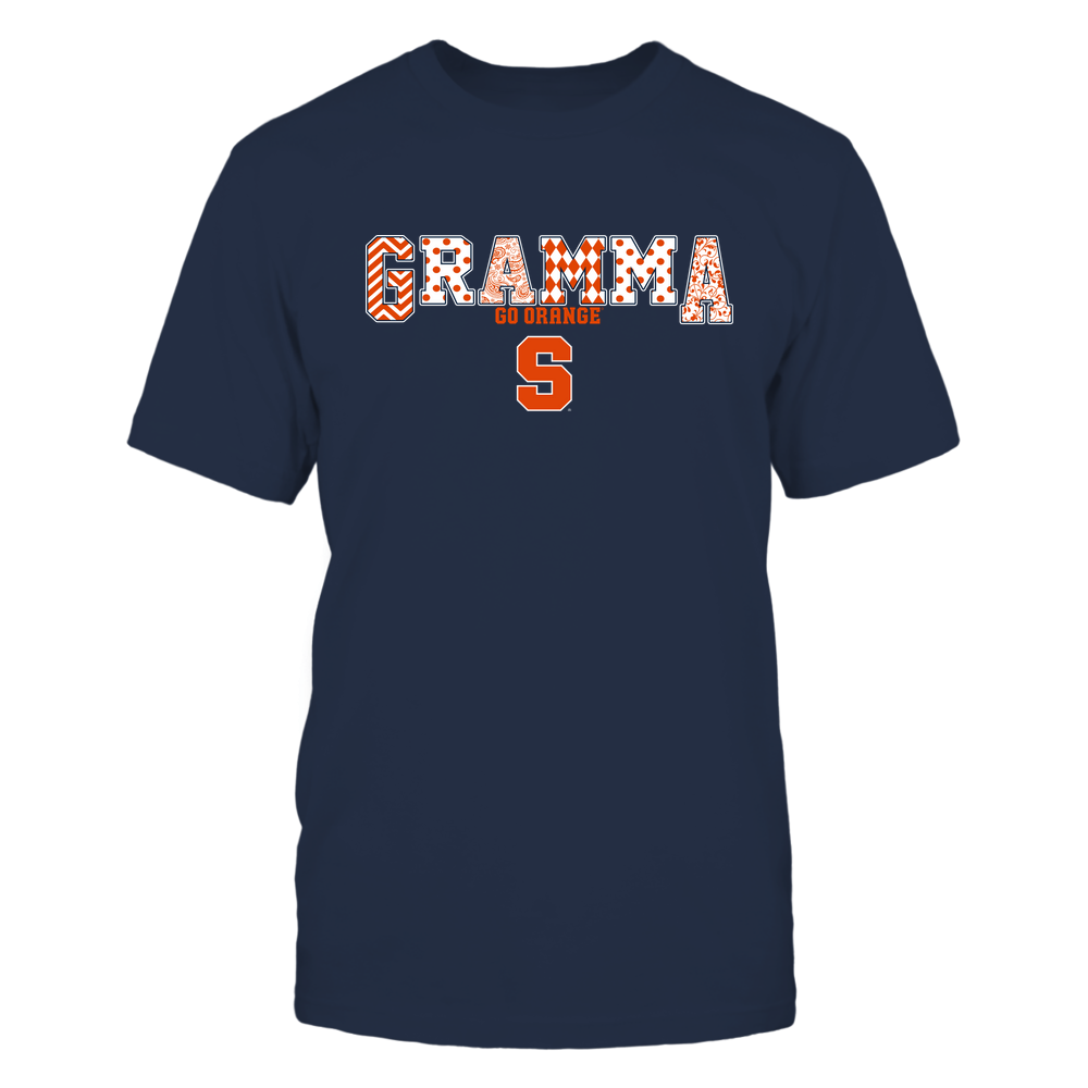 Syracuse Orange - 19070910468 - Gramma - Slogan- Patterned - IF13-IC13-DS75 Front picture