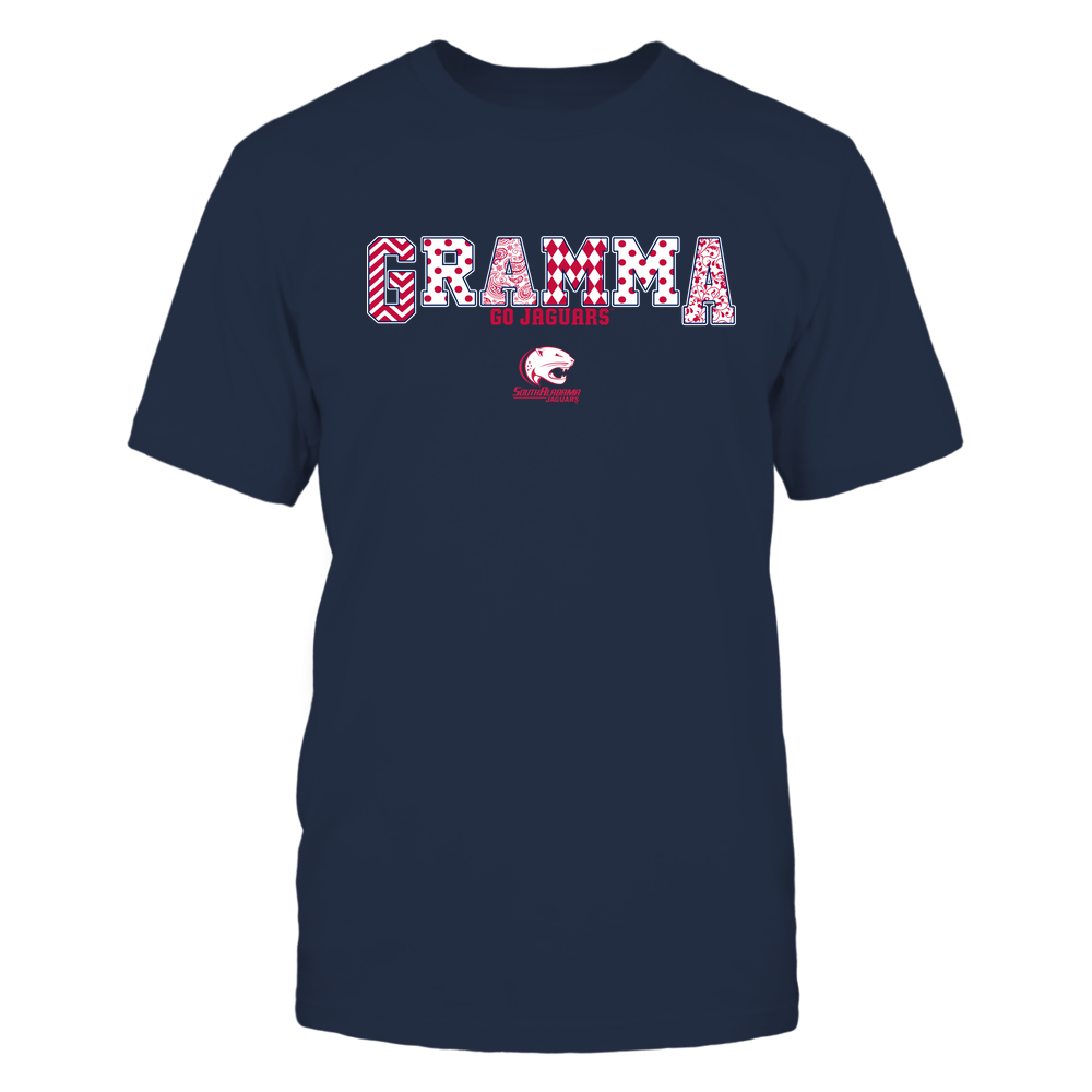 South Alabama Jaguars - 19070910468 - Gramma - Slogan- Patterned - IF13-IC13-DS75 Front picture