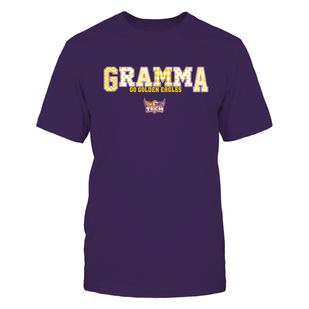 Tennessee Tech Golden Eagles - 19070910468 - Gramma - Slogan- Patterned - IF13-IC13-DS75 Front picture