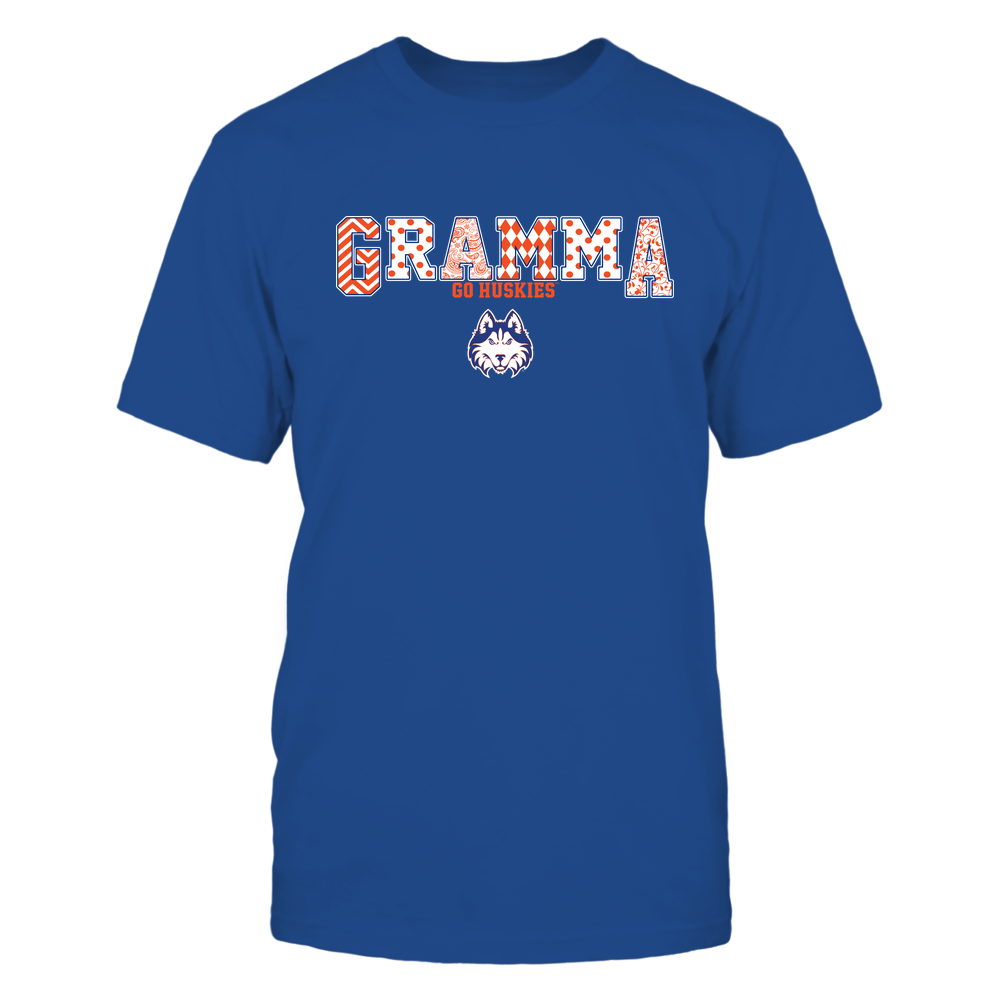 Houston Baptist Huskies - 19070910468 - Gramma - Slogan- Patterned - IF13-IC13-DS75 Front picture