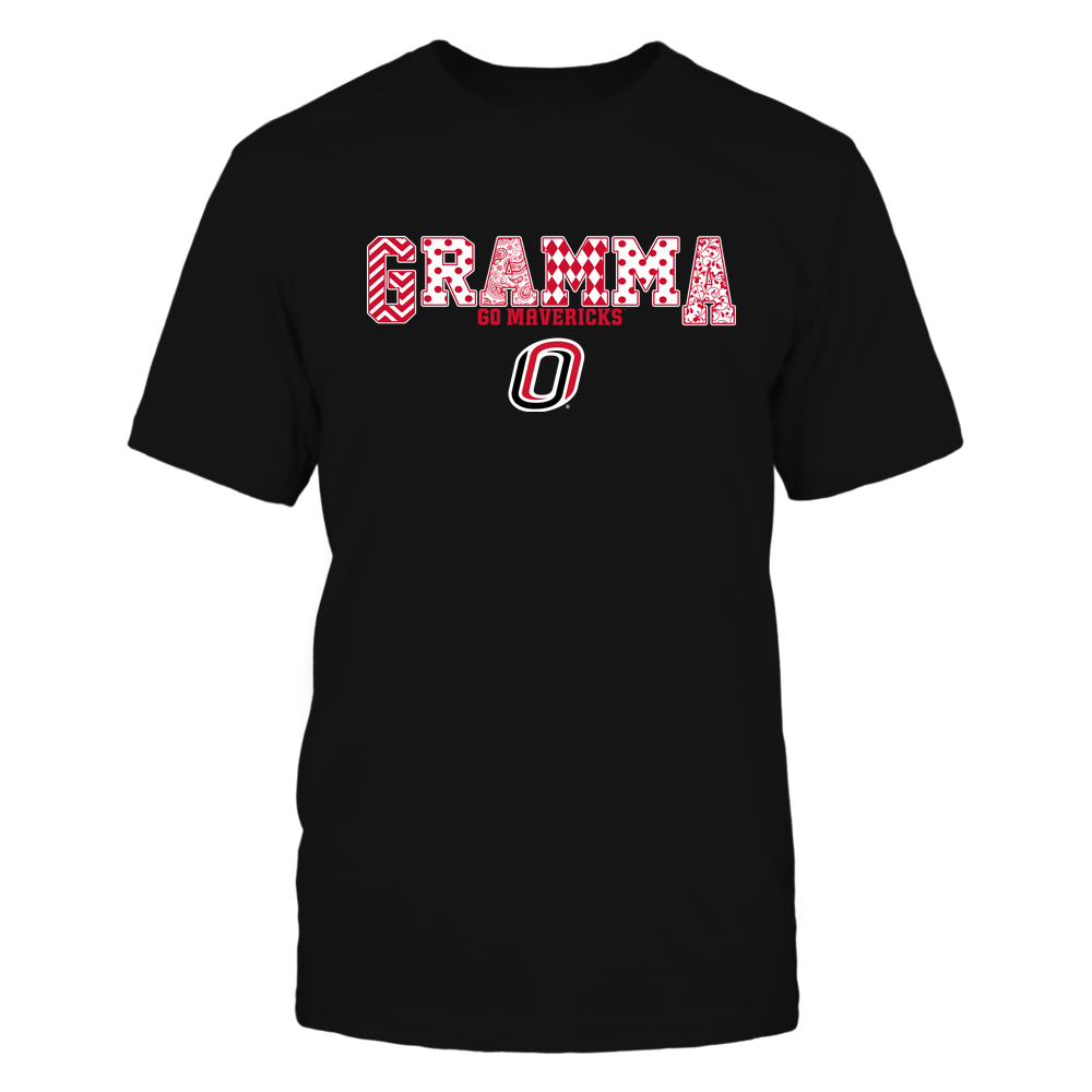 Nebraska Omaha Mavericks - 19070910468 - Gramma - Slogan- Patterned - IF13-IC13-DS75 Front picture