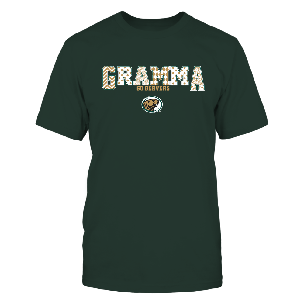Bemidji State Beavers - 19070910468 - Gramma - Slogan- Patterned - IF13-IC13-DS75 Front picture