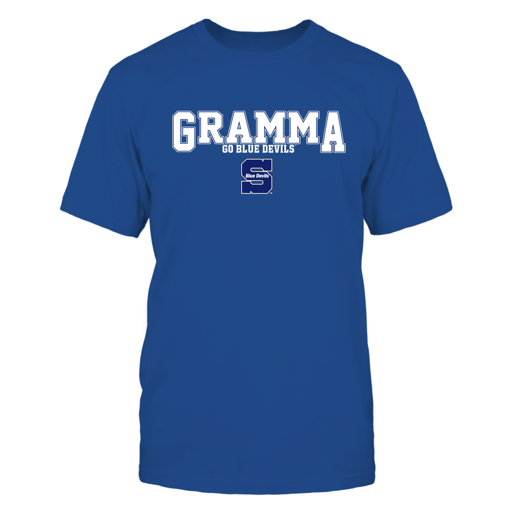Wisconsin Stout Blue Devils - 19070910468 - Gramma - Slogan- Patterned - IF13-IC13-DS75 Front picture
