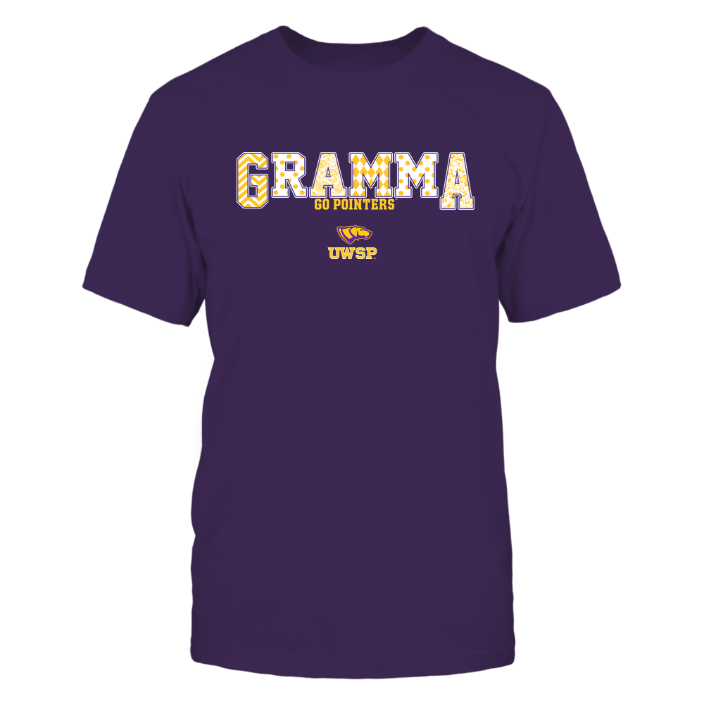 Wisconsin-Stevens Point Pointers - 19070910468 - Gramma - Slogan- Patterned - IF13-IC13-DS75 Front picture