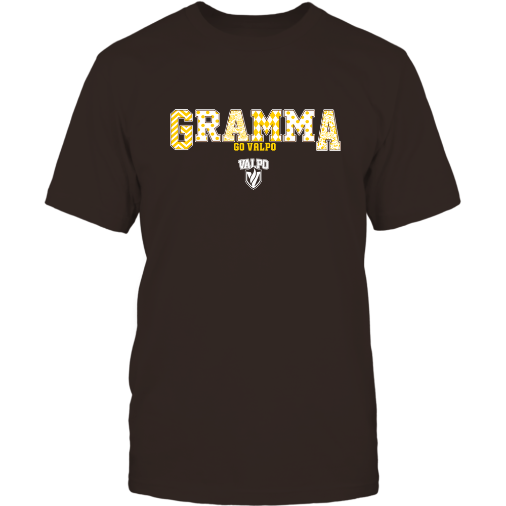 Valparaiso Crusaders - 19070910468 - Gramma - Slogan- Patterned - IF13-IC13-DS75 Front picture