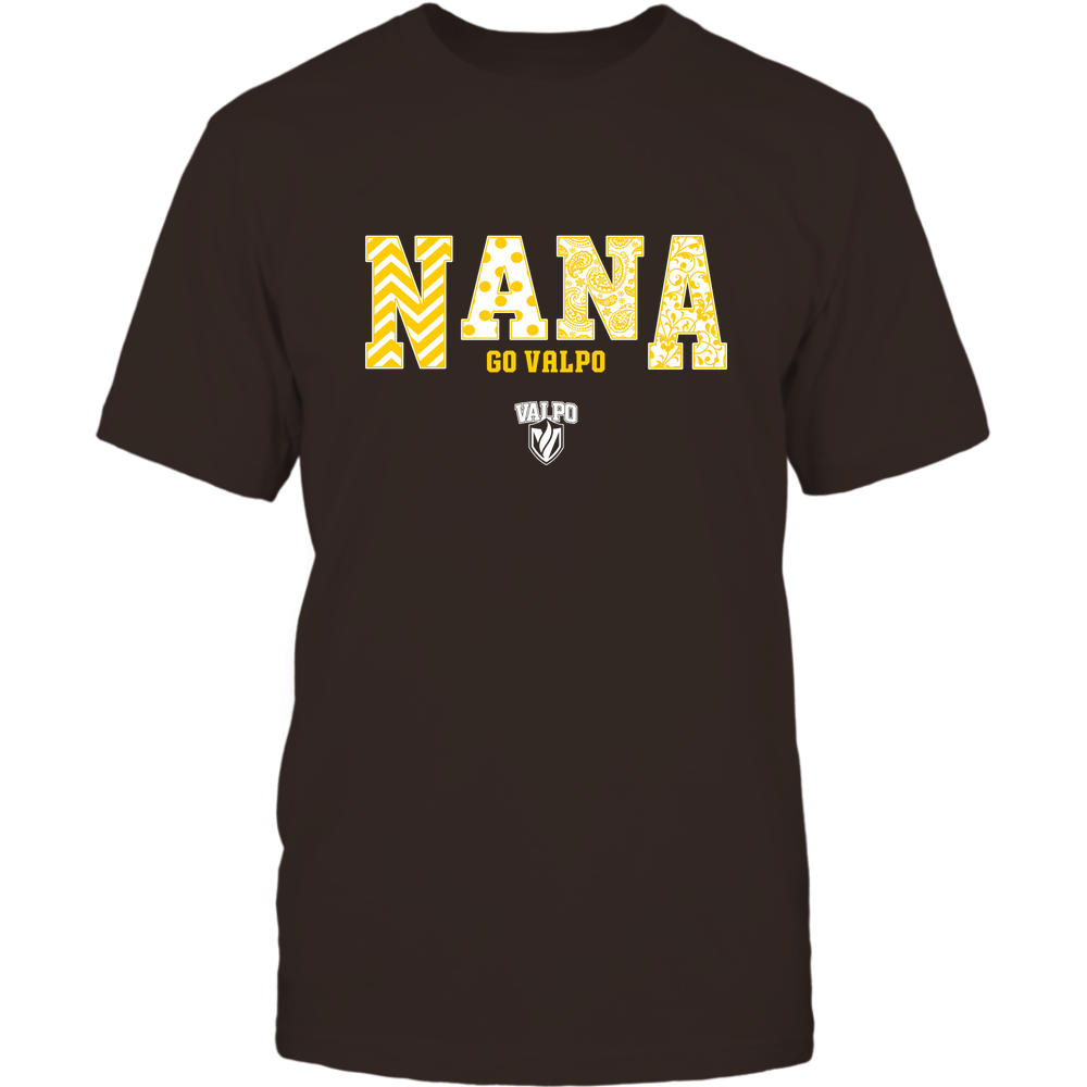 Valparaiso Crusaders - 19070910513 - Nana - Slogan - Patterned - IF13-IC13-DS45 Front picture