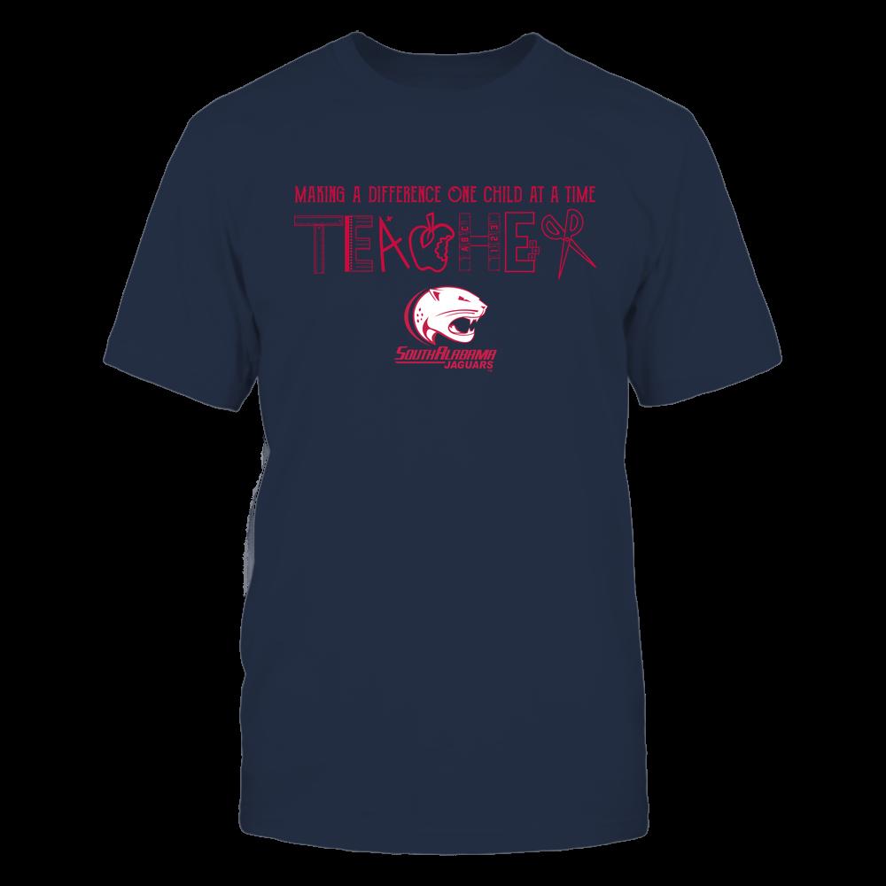 South Alabama Jaguars - Teacher Logo - Team Front picture