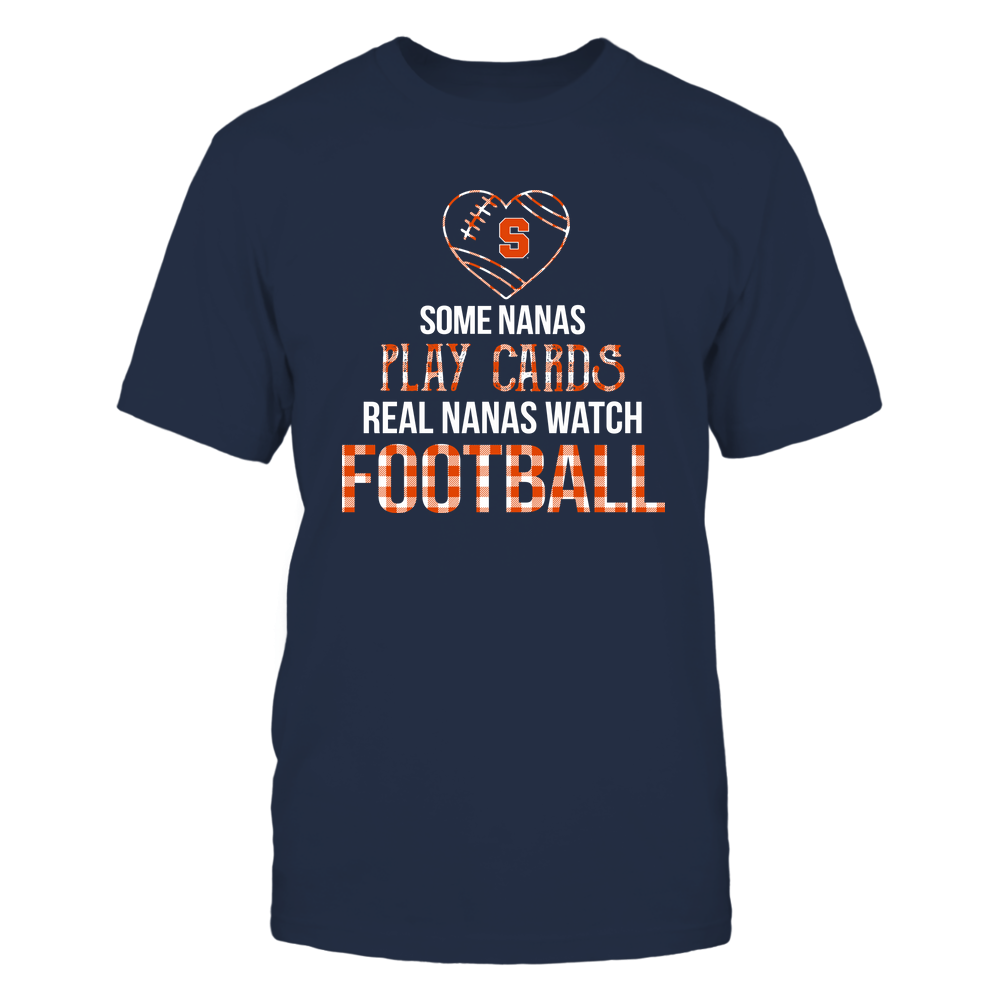 Syracuse Orange - Real Nanas Watch Football - Cards Front picture