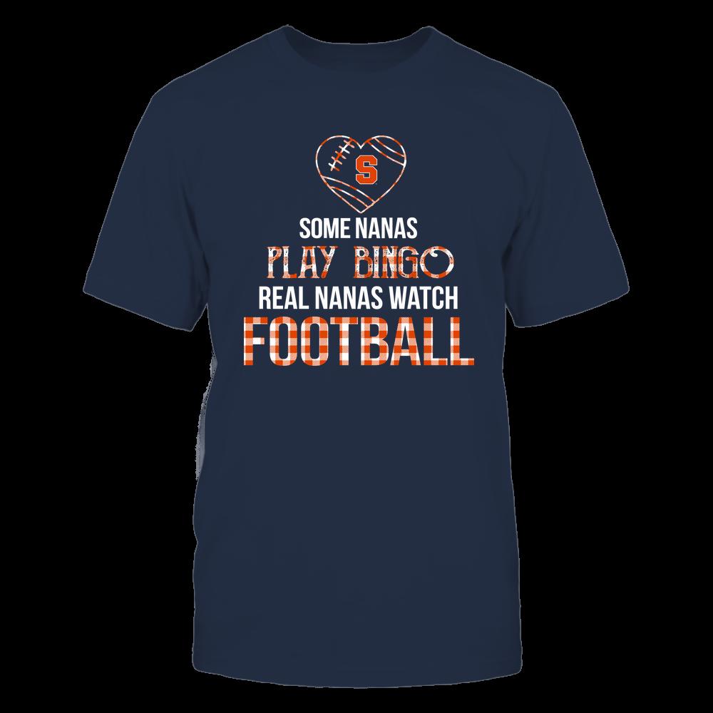 Syracuse Orange - Real Nanas Watch Football - Bingo Front picture