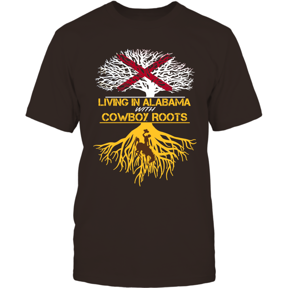 Wyoming Cowboys - Living Roots Alabama Front picture