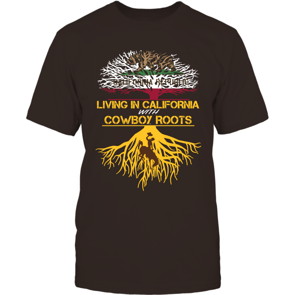 Wyoming Cowboys - Living Roots California Front picture