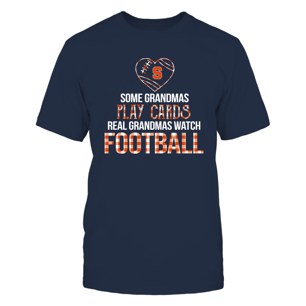 Syracuse Orange - Real Grandmas Watch Football - Cards Front picture