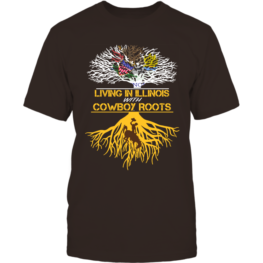Wyoming Cowboys - Living Roots Illinois Front picture