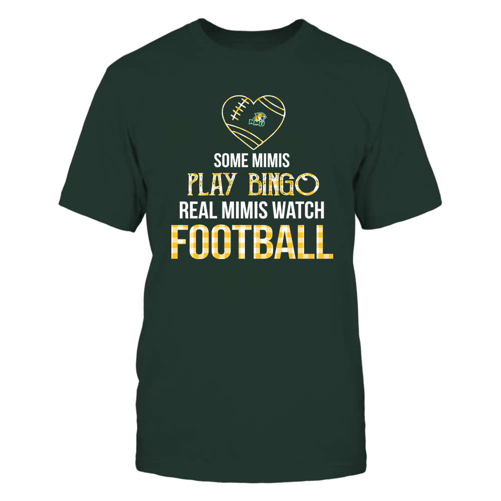 Northern Michigan Wildcats - Real Mimis Watch Football - Bingo Front picture