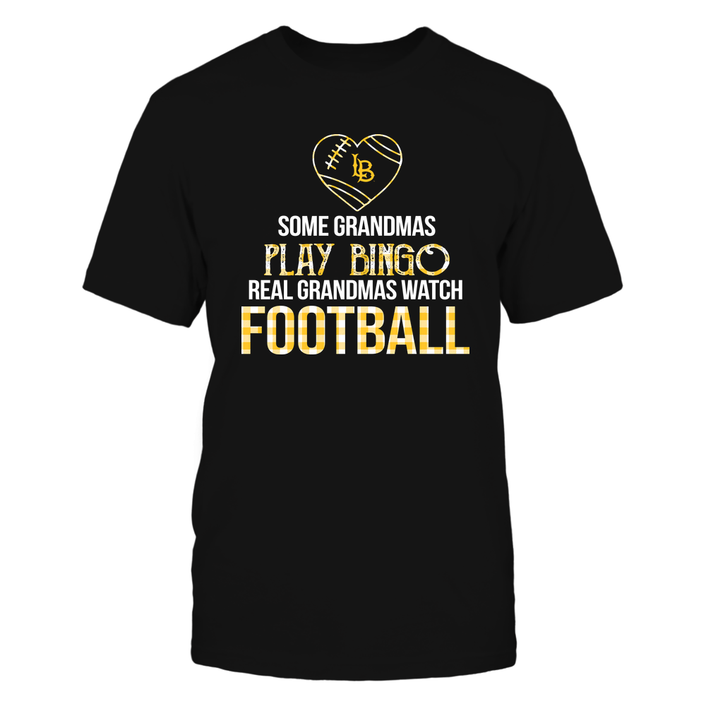 Long Beach State 49ers - Real Grandmas Watch Football - Bingo Front picture