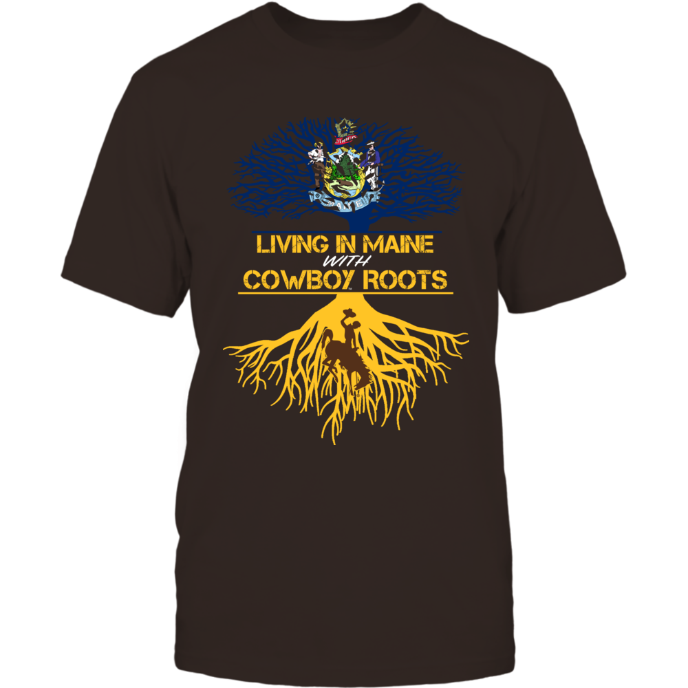 Wyoming Cowboys - Living Roots Maine Front picture