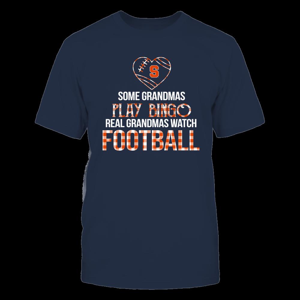Syracuse Orange - Real Grandmas Watch Football - Bingo Front picture