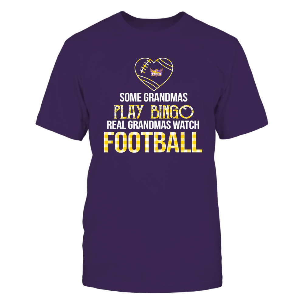 Tennessee Tech Golden Eagles - Real Grandmas Watch Football - Bingo Front picture