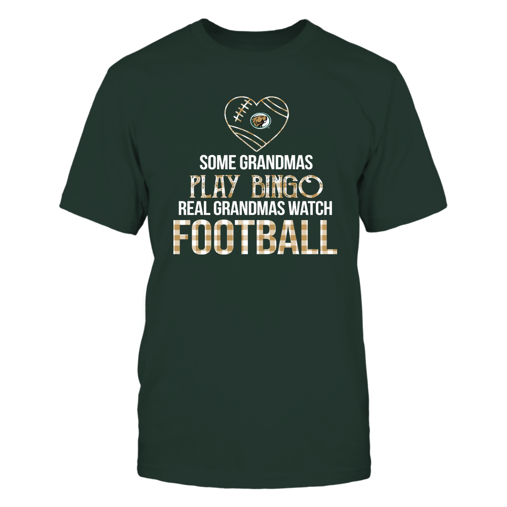 Bemidji State Beavers - Real Grandmas Watch Football - Bingo Front picture