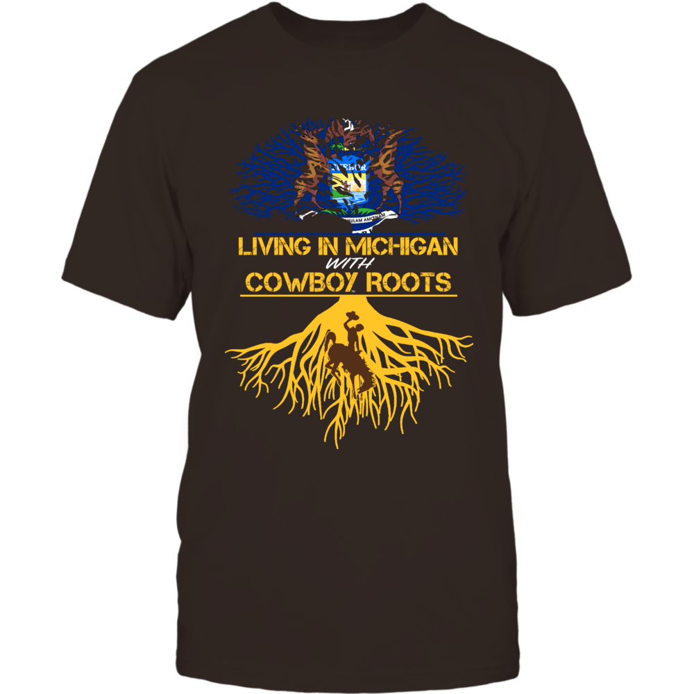 Wyoming Cowboys - Living Roots Michigan Front picture