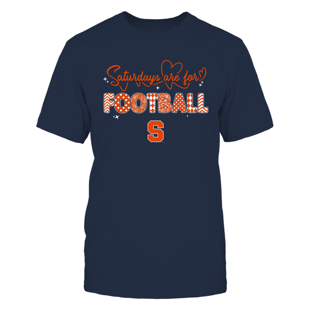 Syracuse Orange - Saturdays Are For Football - Team Front picture
