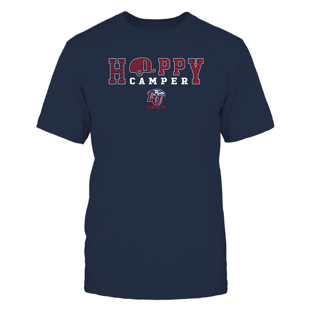 Liberty Flames - Camping - Happy Camper Patterned Front picture
