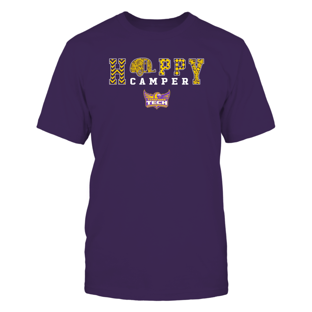 Tennessee Tech Golden Eagles - Camping - Happy Camper Patterned Front picture