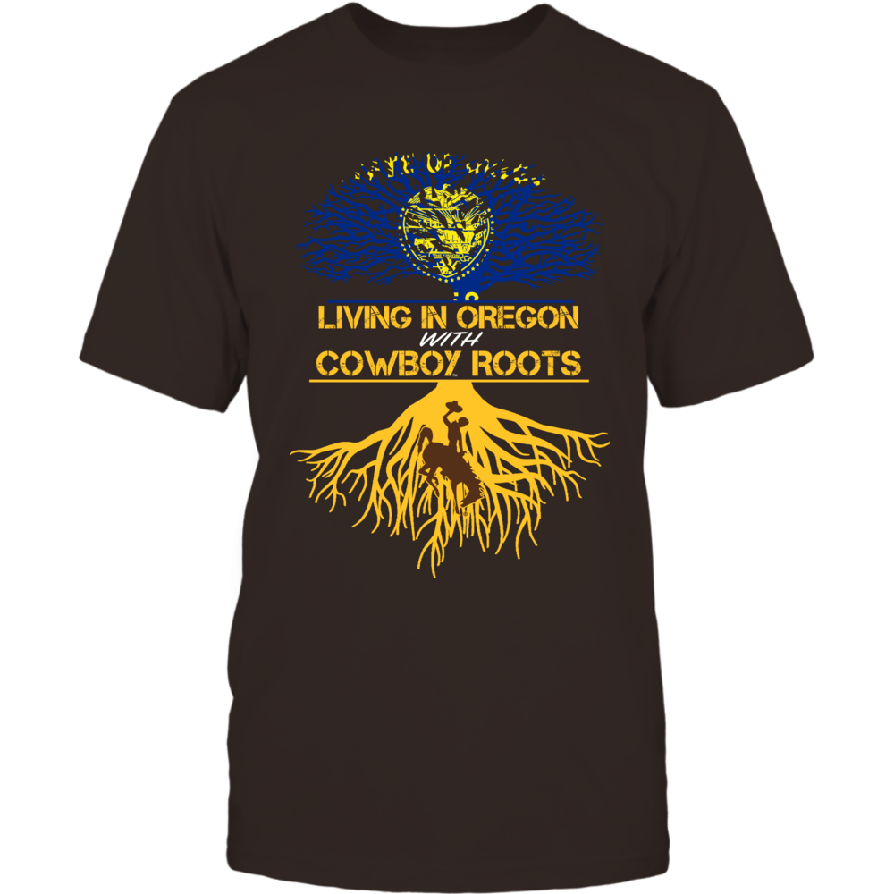 Wyoming Cowboys - Living Roots Oregon Front picture