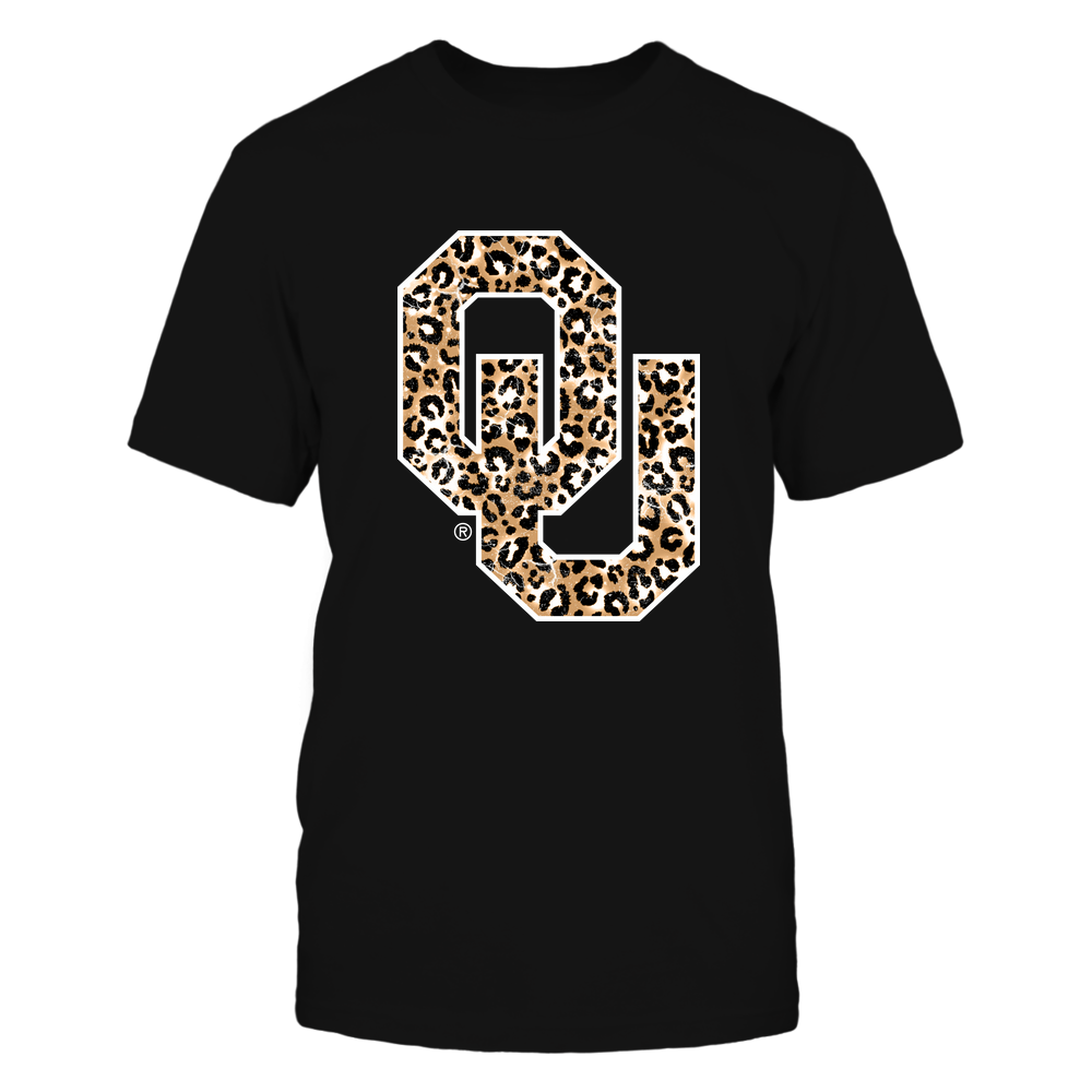 Oklahoma Sooners - Leopard Logo Ver 2 - IF17-IC17-DS45 Front picture