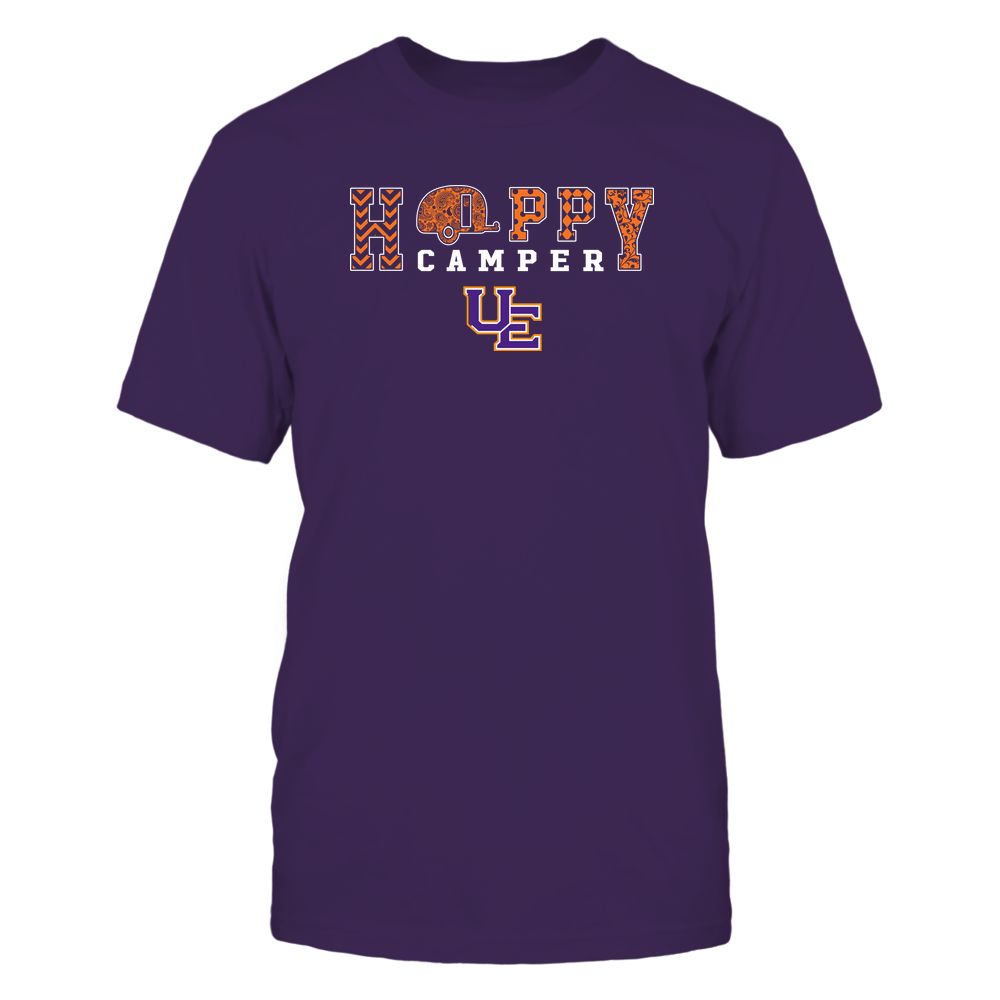 Evansville Purple Aces - Camping - Happy Camper Patterned Front picture