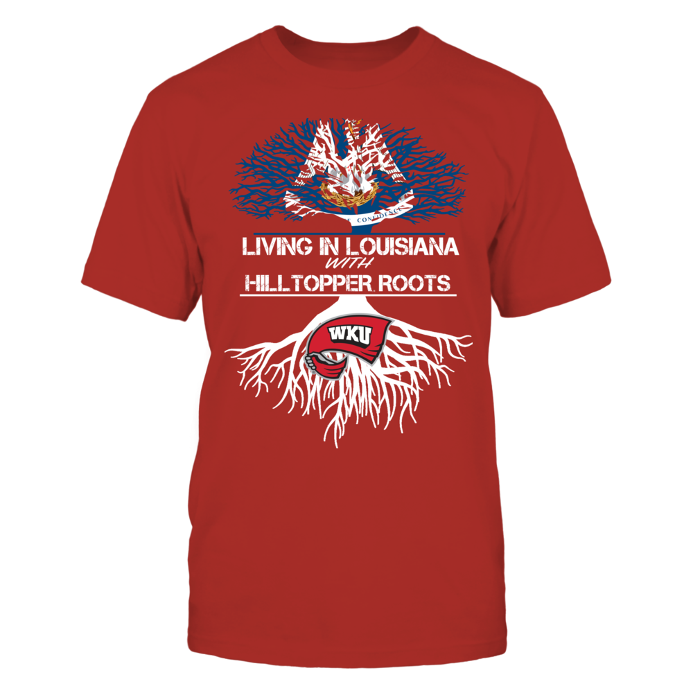 Western Kentucky Hilltoppers - Living Roots Louisiana Front picture