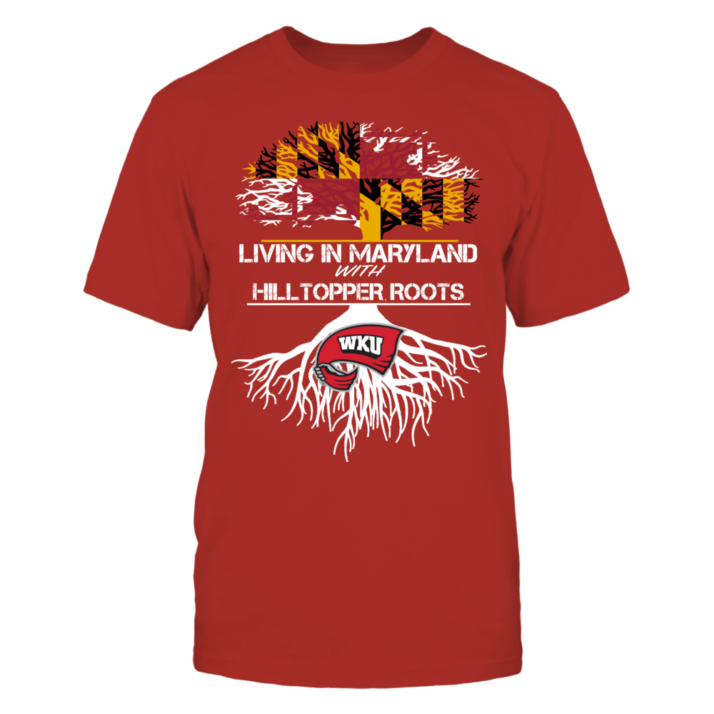 Western Kentucky Hilltoppers - Living Roots Maryland Front picture