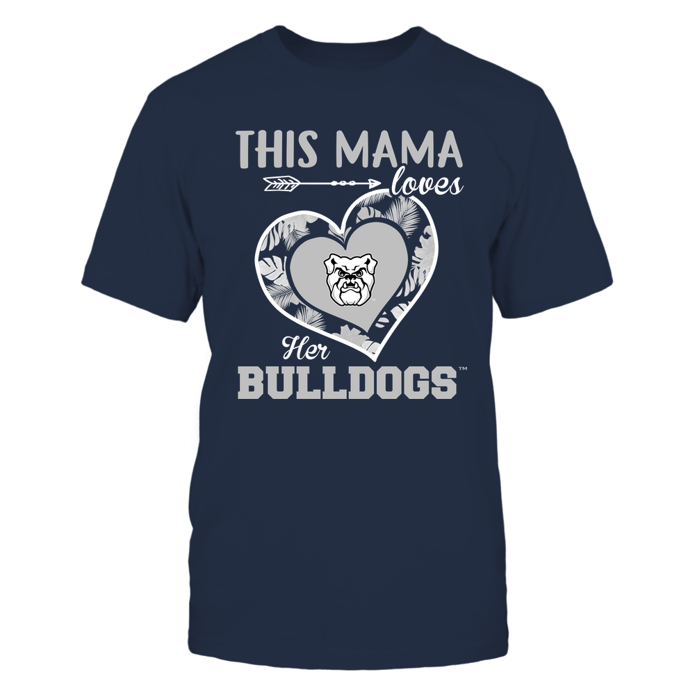 Butler Bulldogs - This Mama - Loves Her Team - Heart Foliage Front picture