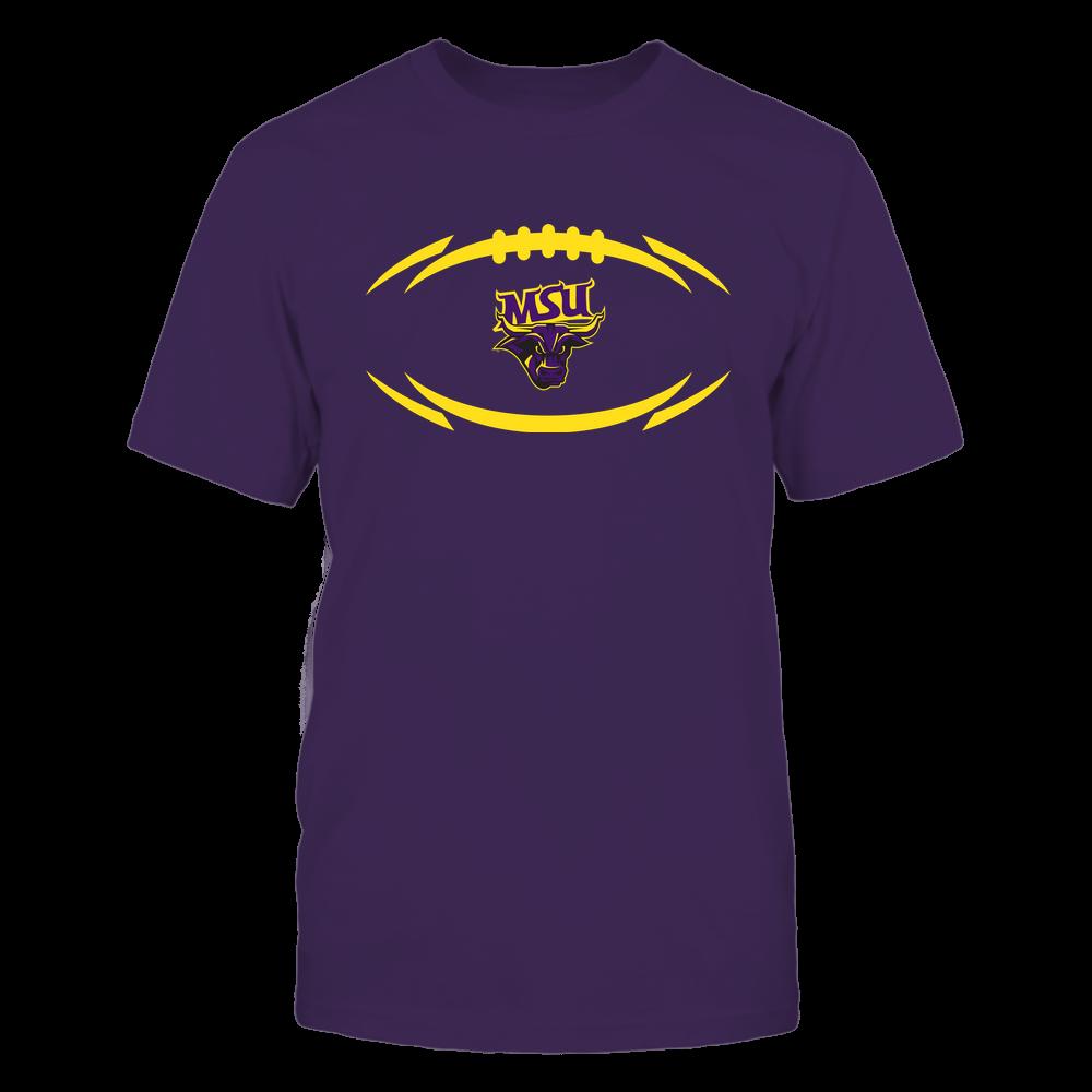 Minnesota State Mavericks - Modern Football 2 - Logo Front picture