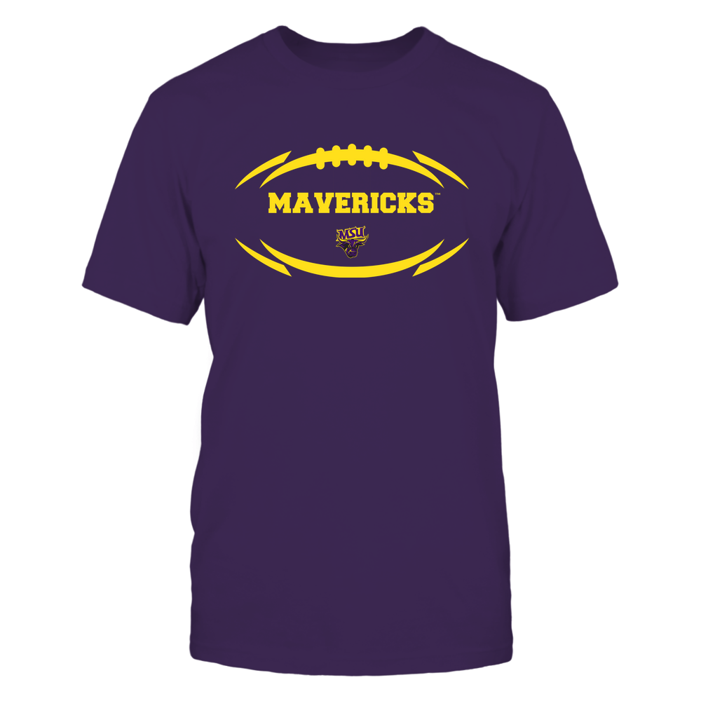 Minnesota State Mavericks - Modern Football 2 - Mascot - Logo Front picture