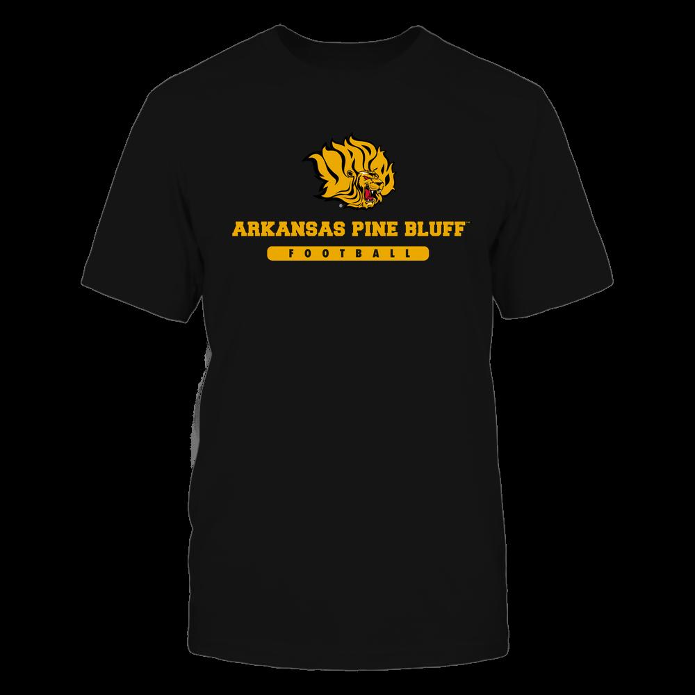 Arkansas Pine Bluff Golden Lions - School - Logo - Football Front picture